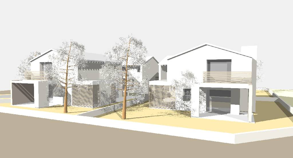 Accordi immobiliari s r l casa terreno appartamento for Villetta moderna progetto