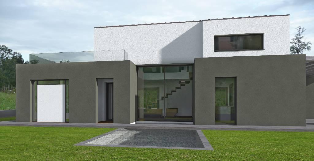 Progetto casa singola 2 piani esempio progetto online for Piani di casa cottage